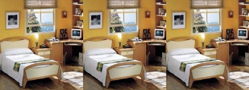 Juegos de dormitorios camas mesas de luz comodas armarios for Amoblamiento dormitorios matrimoniales
