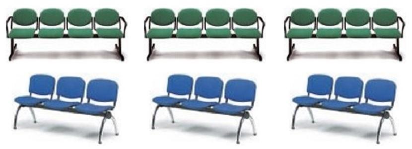 Sillas para sala de espera idea de la imagen de inicio for Sillas sala de espera