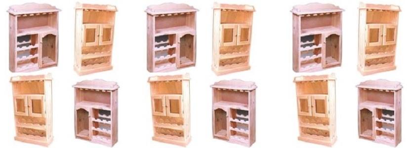 en madera maciza, enchapados ó laminados Catálogo de Muebles